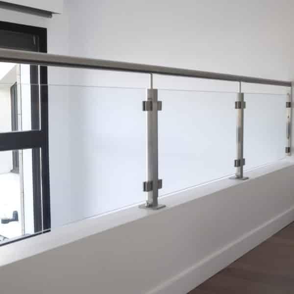 balustrade en verre design et moderne