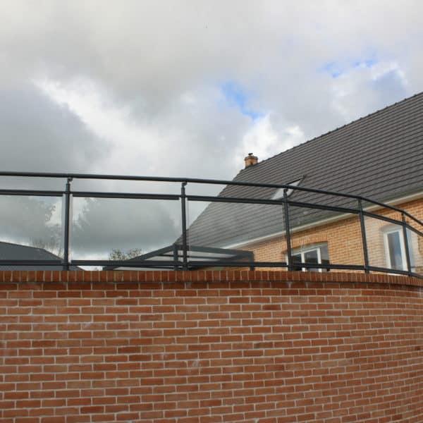 garde corps pour balcon moderne