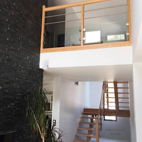 Escaliers bois, escalier bois sur mesure - C Design Bois