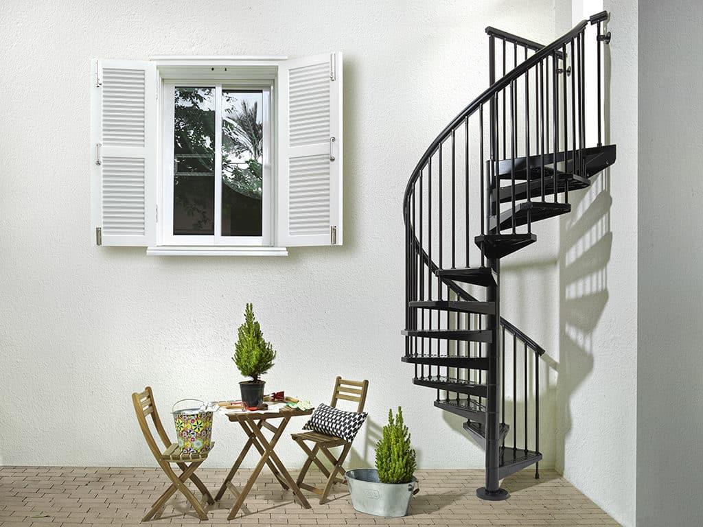escalier extérieur en kit design