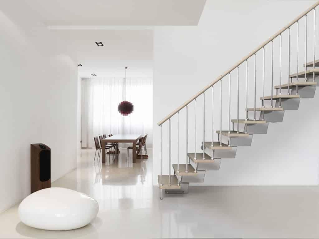 escalier design et modernes en kit