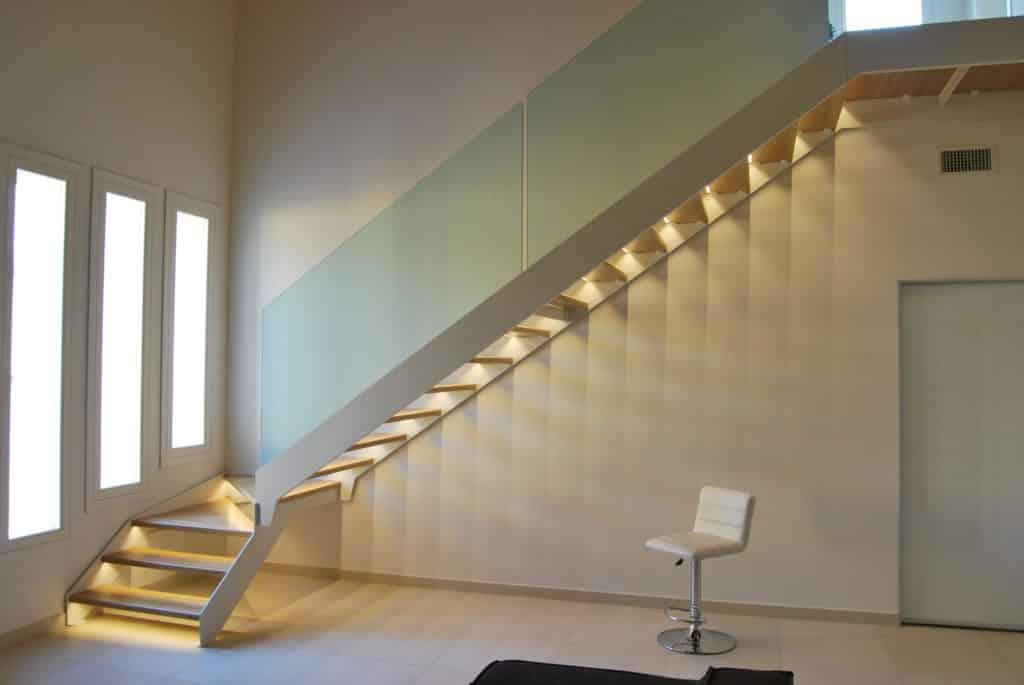 escalier métallique en bois - c mon escalier