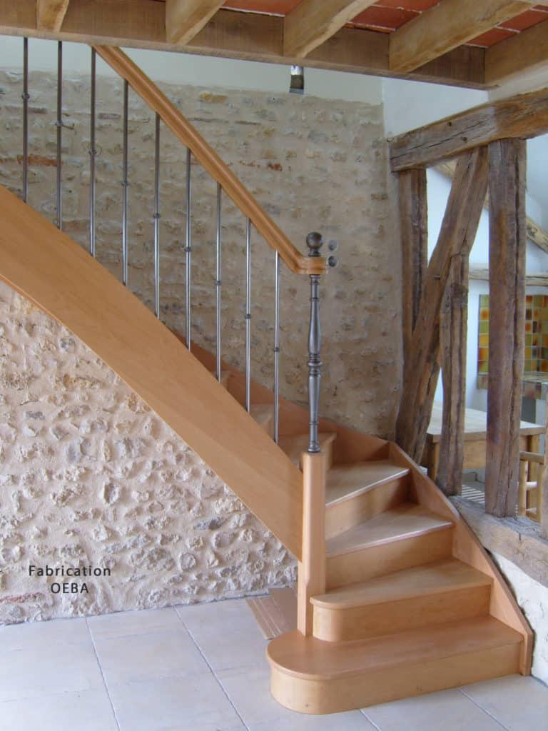 fabricant escalier fournisseur oeba - boutique à valence