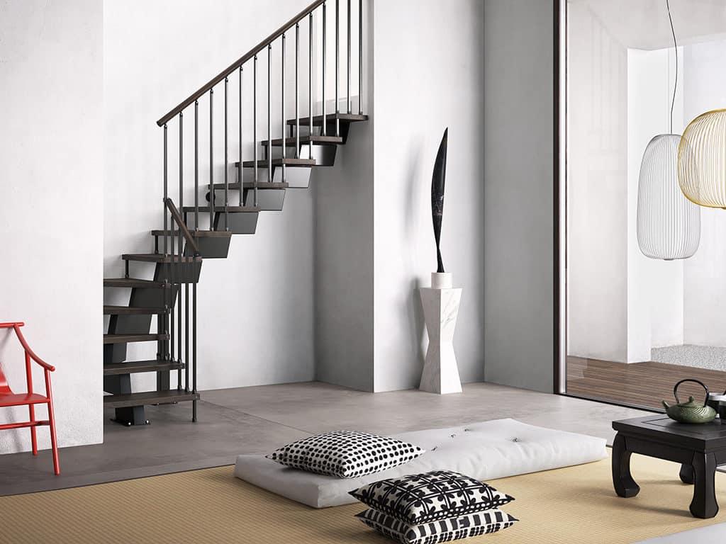 escalier en kit - devis escalier moderne