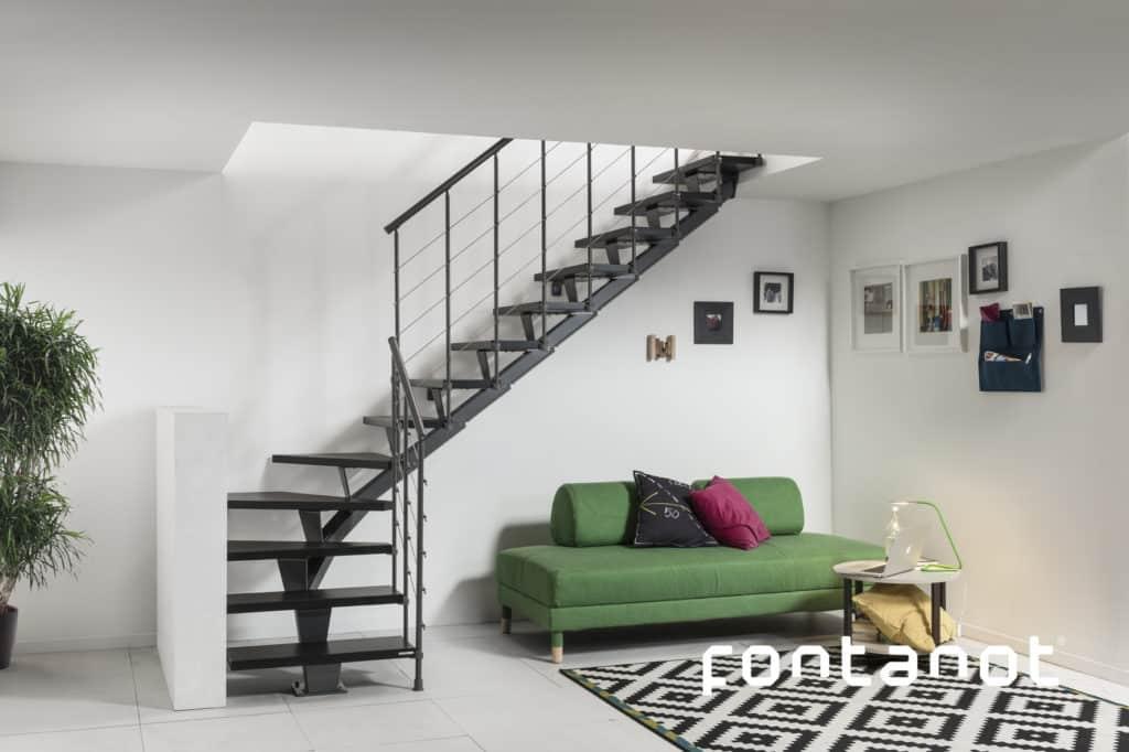 escalier vendu en kit - escalier moderne de grande qualité