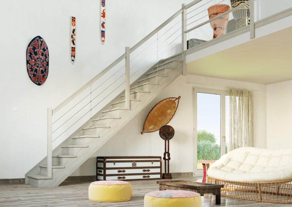 escalier bois sur mesure moderne et design