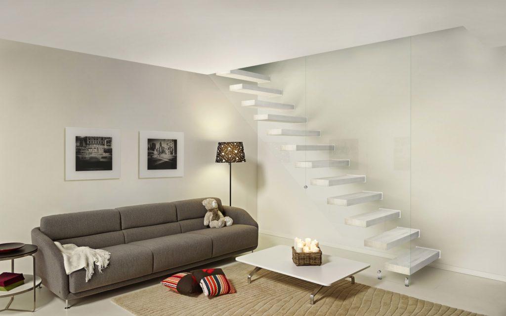 escalier moderne et design pour intérieur