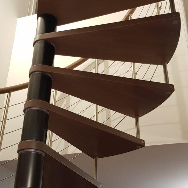 escalier de la gamme c courbe