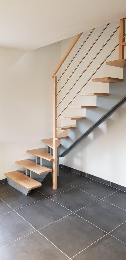 Escalier C Design Bois