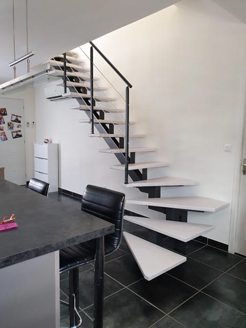 Escalier C Design Métal