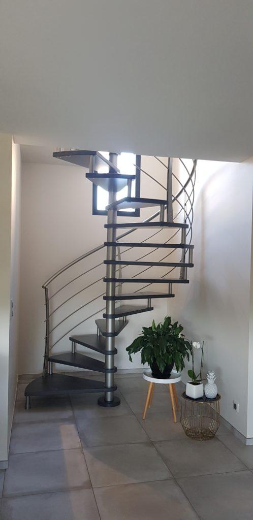 Gamme C Courbe - Escalier