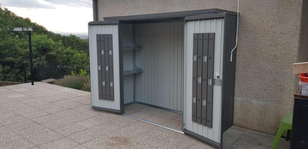 amenagement extérieur - armoire en métal